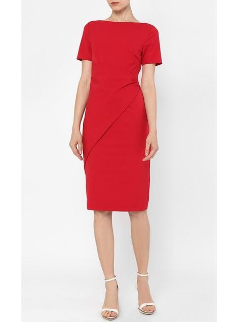 Be Efficient Business Dress in Red